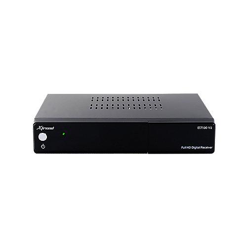 Xtrend ET7100 V2 HDTV Linux PVR Receiver 1xDVB-C/T2 | 4260256070189