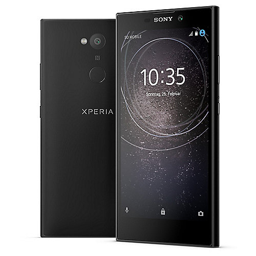 Sony Xperia L2 black Android 7 Smartphone