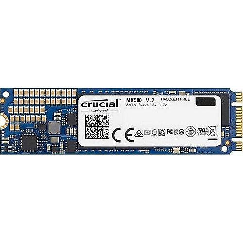 MX500 SSD 500GB M.2 Micron 3D TLC SATA600 | 0649528785091