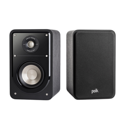 Polk  Signature S15 Regallautsprecher High-Res Standard schwarz Paar- | 0747192127572