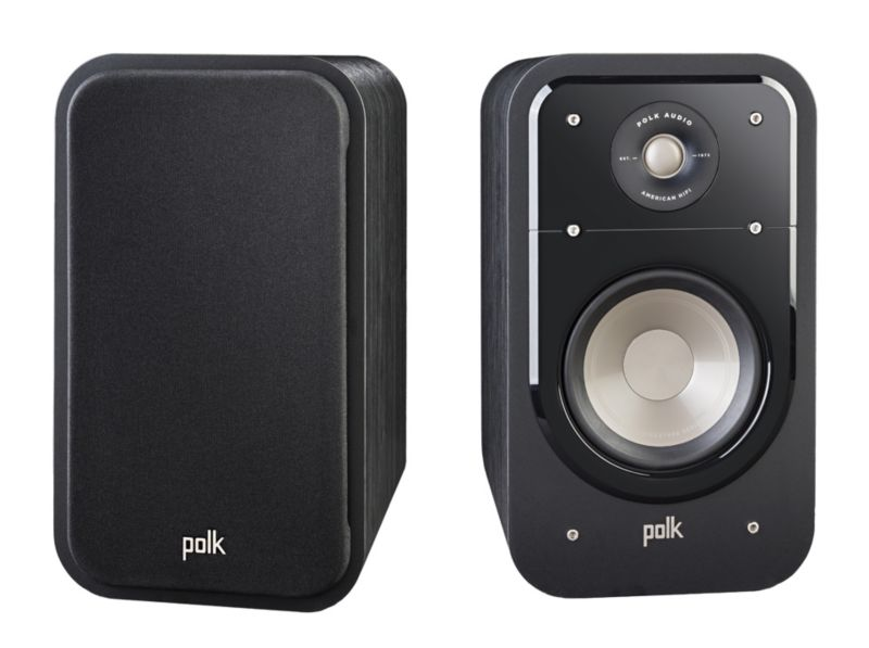 Polk Signature S20 Regallautsprecher High-Res Standard schwarz –Paar-