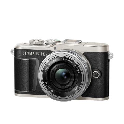 Olympus  PEN E-PL9 Kit 14-42mm EZ Pancake Systemkamera schwarz | 4545350051853