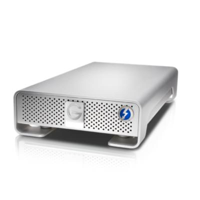 G-Technology  G-DRIVE Thunderbolt 10TB USB3.0 3,5zoll SATA600 7200rpm silber | 0705487202687