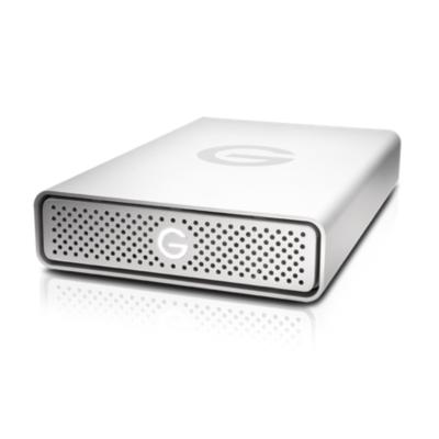G-Technology  G-DRIVE USB 10TB USB3.0 3,5zoll SATA300 7200rpm silber | 0705487202649