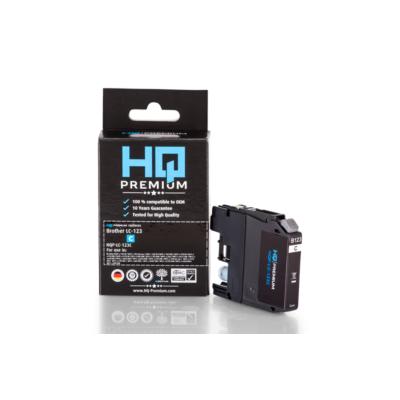 HQ Patronen HQ-Premium Tintenpatrone ersetzt Brother LC-123C Cyan | 4059944824681