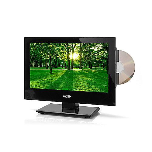 """CP7903-11Z XORO HTC 1346 33.8 cm 13,3"""" DVB-C/S2/T2 Fernseher mit DVD-Player"""