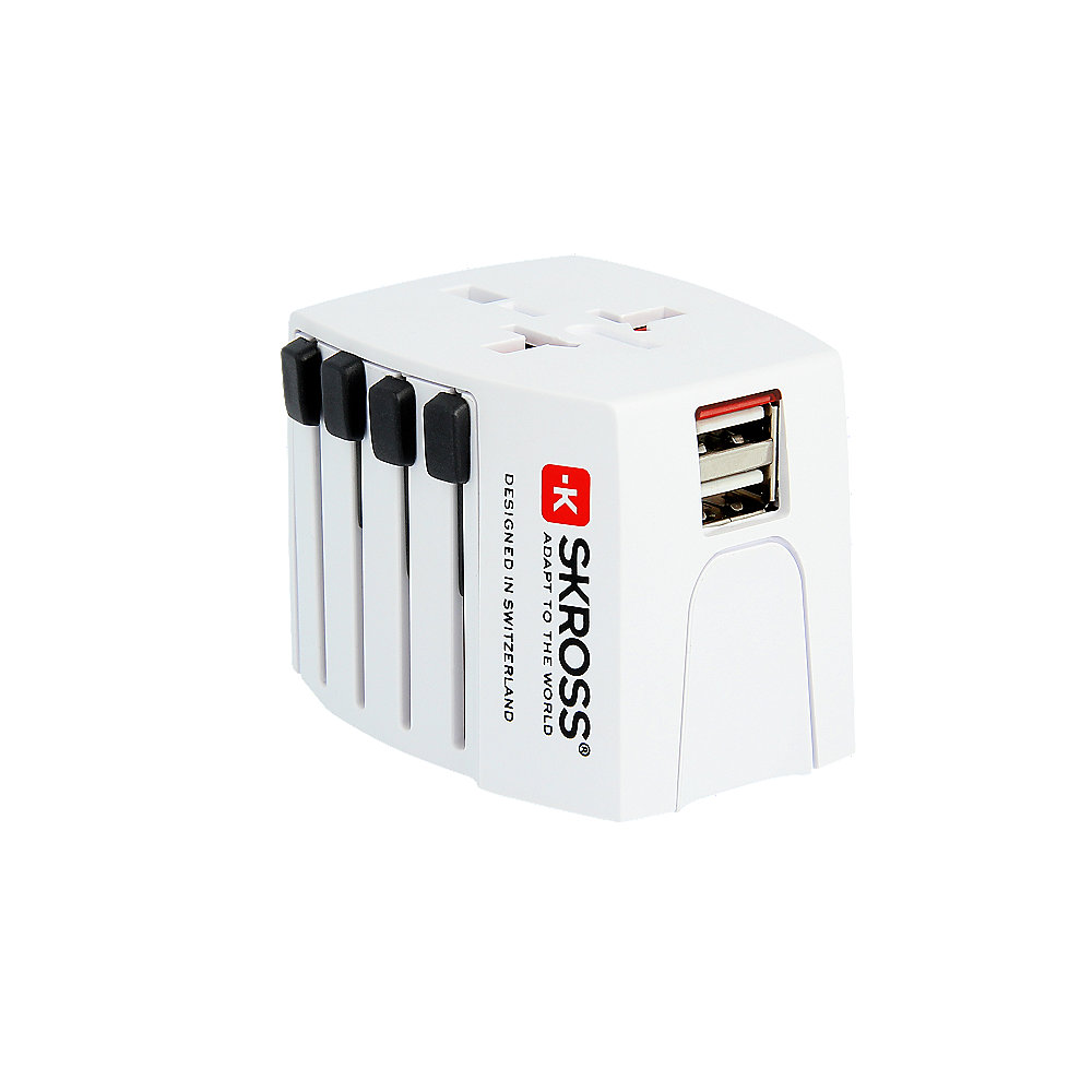 SKROSS World Adapter MUV USB 2-polig (2.5A) Reiseadapter
