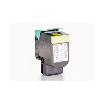 HQ Patronen Alternative zu Lexmark 0C544X1YG Toner Gelb für ca. 4.000 Seiten | 4250631283747