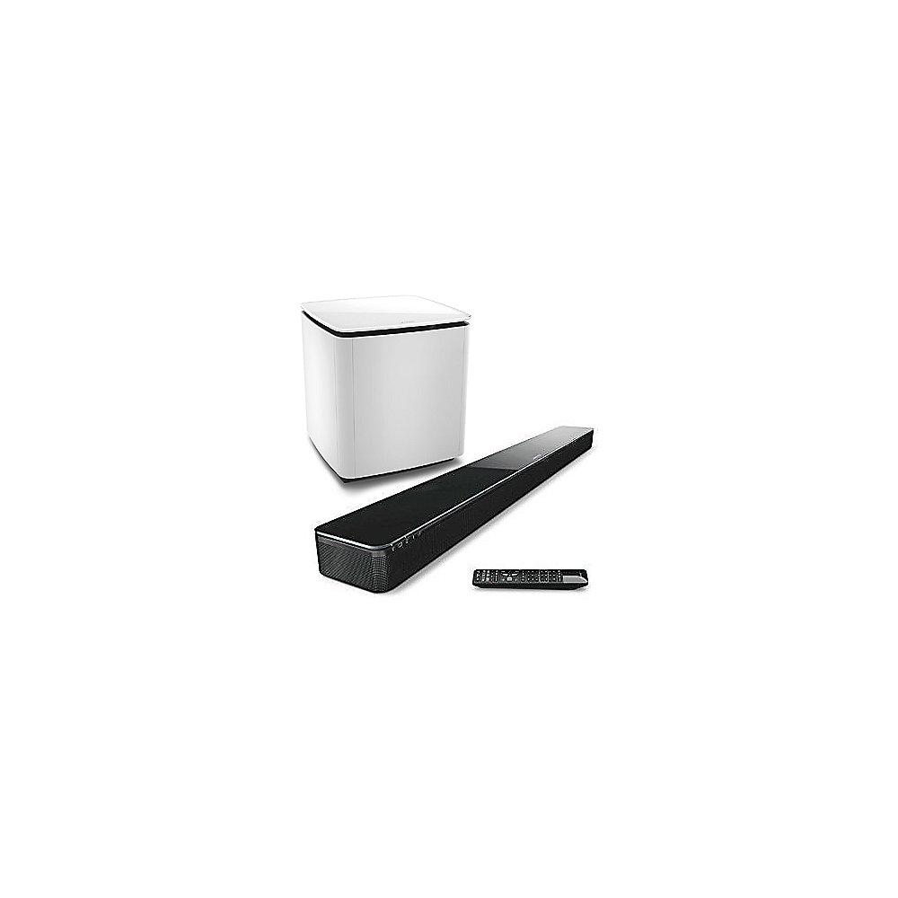 Setbose Lifestyle Soundtouch 300 Soundbar Acoustimass Wei Bose With Plus Virtually Invisible
