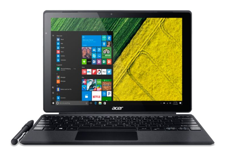"Acer Switch 12 SA5-271P-56H6 i5-6200U 4GB/128GB SSD 12"" QHD 2in1 Touch W10P"