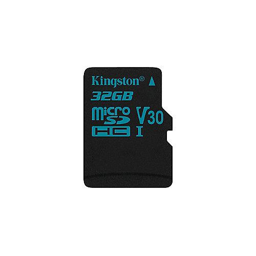 Kingston Canvas Go! 32 GB microSDHC Speicherkarte (45 MB/s, Class 10, UHS-I)   0740617276305