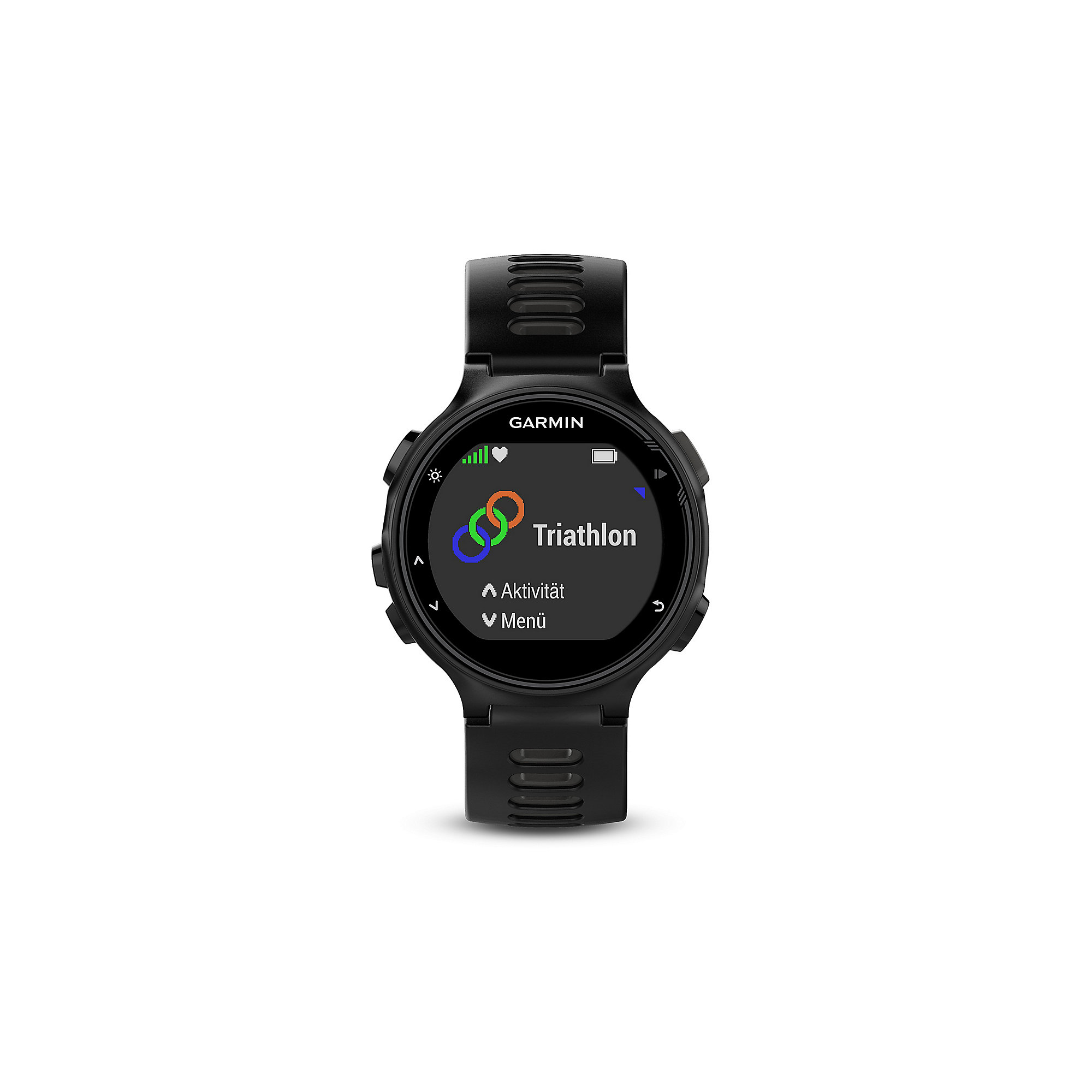 Garmin Forerunner 735XT schwarz/grau Run Bundle inkl. Brustgurt