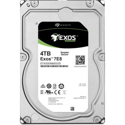 Seagate  Exos 7E8 ST4000NM0055 – 4TB 7200rpm 128MB 4KN SED 3.5zoll SATA600 | 7636490070136