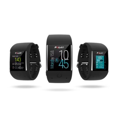 Polar  M600 Fitness Smartwatch mit GPS Schwarz | 0725882034140