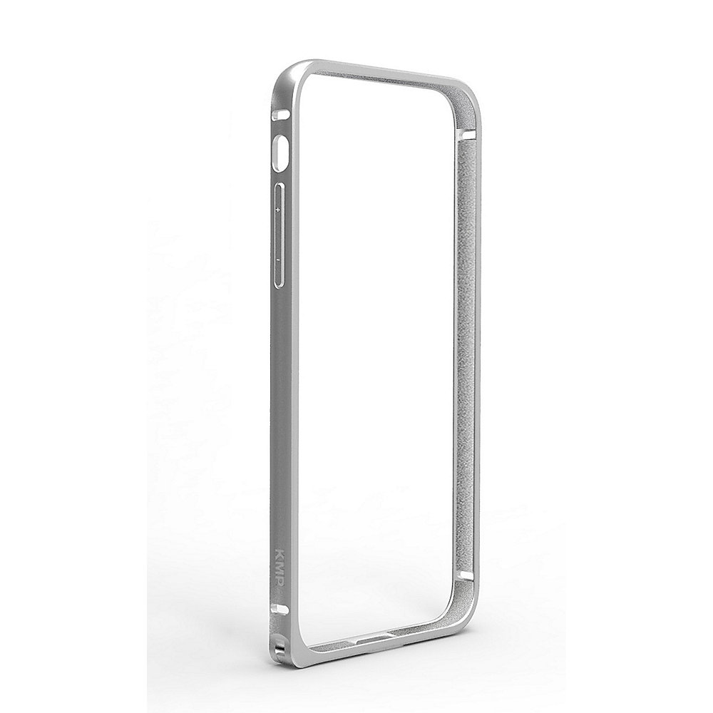 KMP Protective Bumper f?r iPhone X, silber
