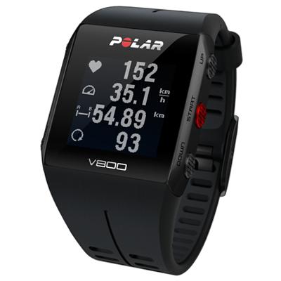 Polar  V800 Profi-Multisportuhr mit GPS Schwarz inkl. H10 Herzfrequenzsensor | 0725882033556