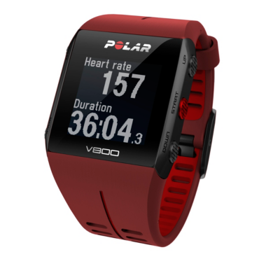 Polar  V800 Profi-Multisportuhr mit GPS Rot inkl. H10 Herzfrequenzsensor | 0725882033594