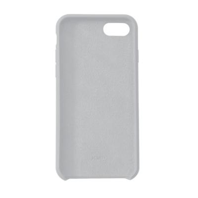 KMP  Silikon Case Velvety Premium für iPhone 8, grau | 4057652002094
