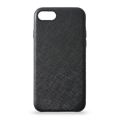 KMP  KMP Leder Case für iPhone 8, schwarz | 4057652001936