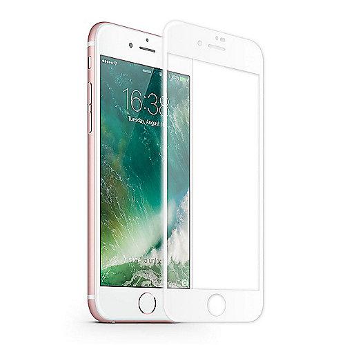 KMP Hartglas Displayschutz für iPhone 8, frame ...