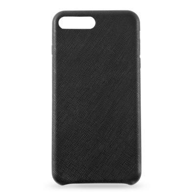 KMP  Leder Case für iPhone 8 Plus, schwarz | 4057652001981