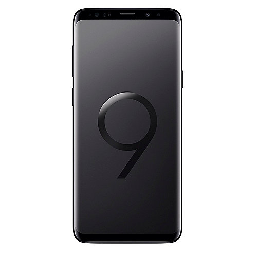 Samsung GALAXY S9+ midnight black G965F 64 GB Android 8.0 Smartphone