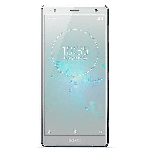 Sony Xperia XZ2 liquid silver Android 8 Smartphone