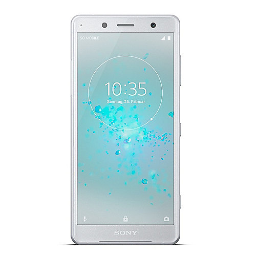Sony Xperia XZ2 compact white silver Android 8 ...