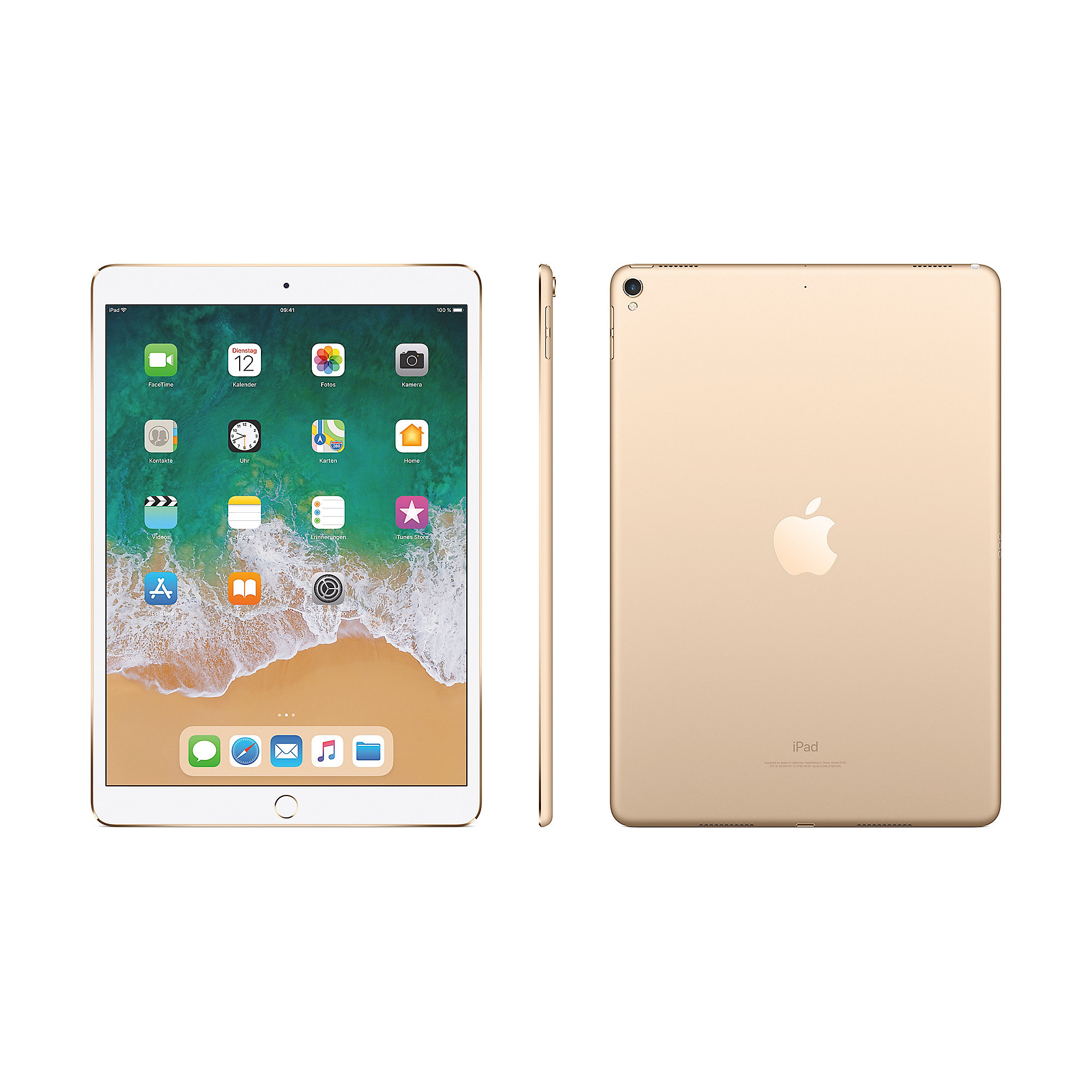 "Apple iPad Pro 10,5"" 2017 Wi-Fi 256 GB Gold MPF12FD/A"
