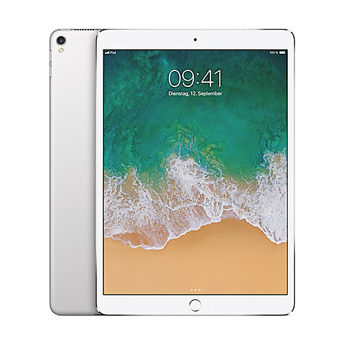 Apple iPad Pro 10,5'' 2017 Wi Fi Cellular 64 GB Silber MQF02FD A