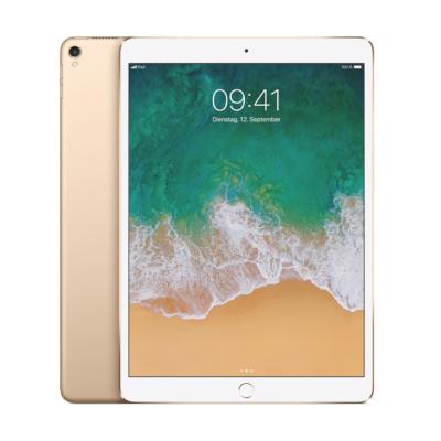 Apple iPad Pro 10,5'' 2017 Wi Fi Cellular 256 GB Gold MPHJ2FD A auf Rechnung bestellen