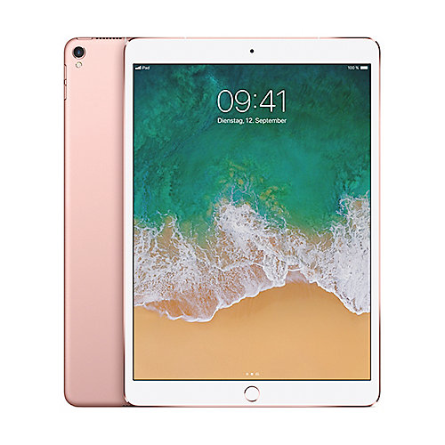 "Apple iPad Pro 10,5"" 2017 Wi-Fi + Cellular 512 GB Roségold MPMH2FD/A"