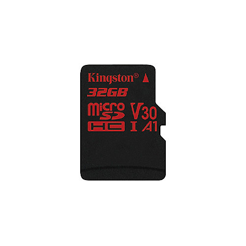 Kingston Canvas React 32 GB microSDHC Speicherkarte (80 MB/s, V30, A1, UHS-I)