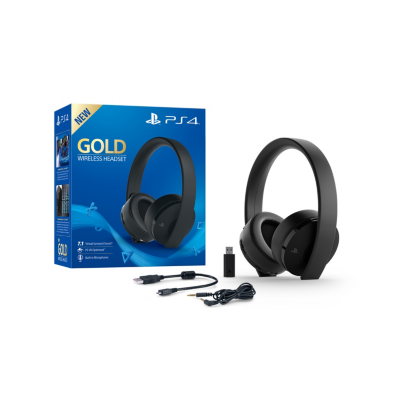 Sony  Playstation Wireless Stereo Headset 2.0 Gold Edition   0711719455165
