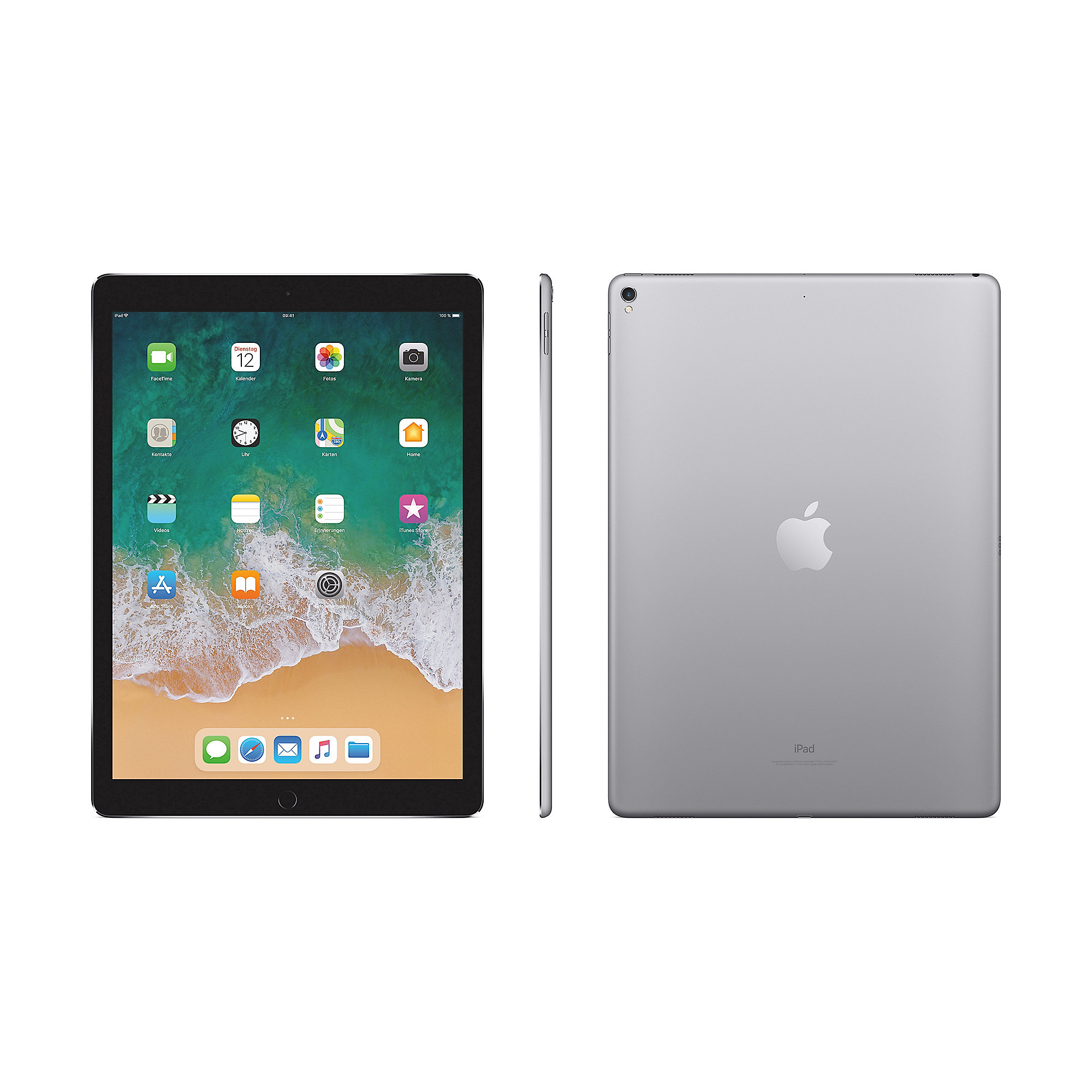 "Apple iPad Pro 12,9"" 2017 Wi-Fi 64 GB Space Grau MQDA2FD/A"