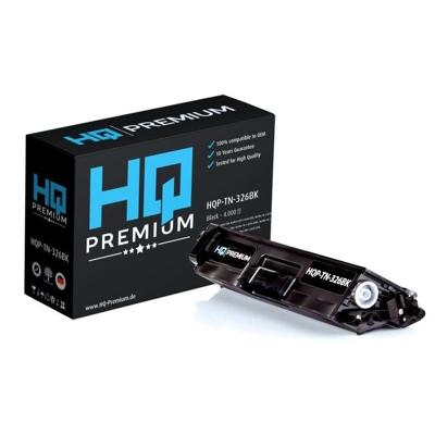 HQ Patronen HQ-Premium Toner ersetzt Brother TN-326BK Schwarz für ca. 4.000 Seiten | 4059944629552
