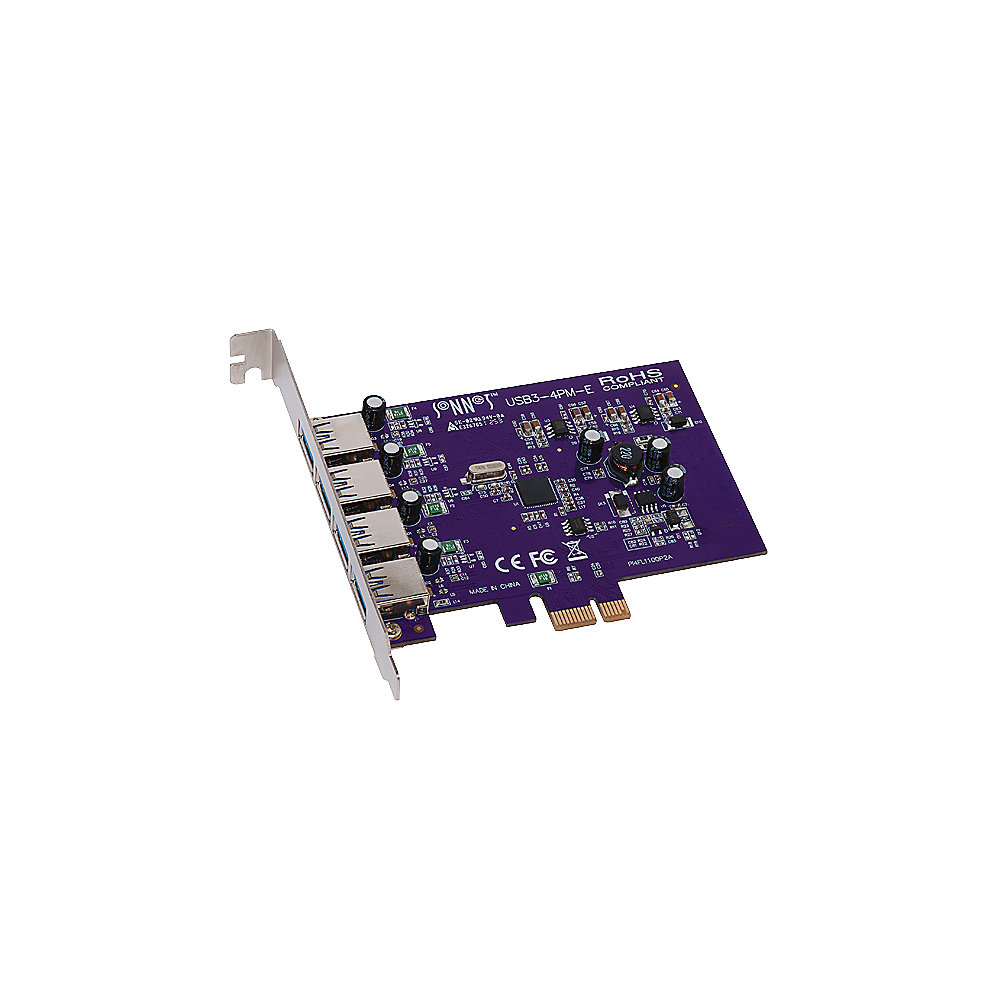 Sonnet Allegro 4-Port USB 3.0 PCI-Express Adapter MAC/PC