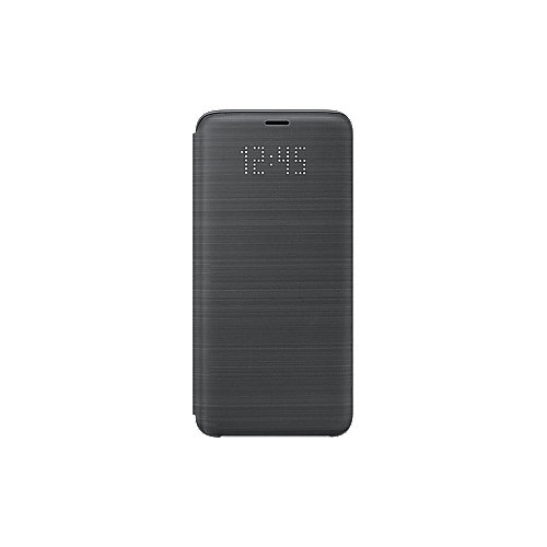 Samsung EF-NG960 LED View Cover für Galaxy S9 schwarz