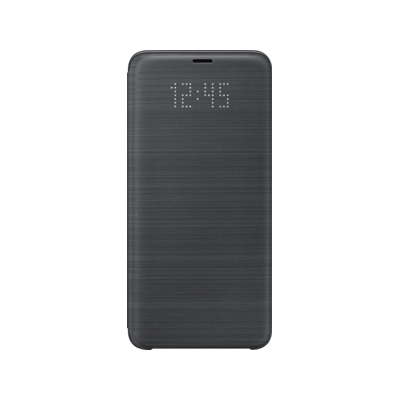 Samsung  EF-NG965 LED View Cover für Galaxy S9+ schwarz | 8801643098544