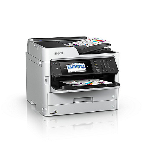 EPSON WorkForce Pro WF-C5710DWF Multifunktionsdrucker Scanner Kopierer Fax WLAN