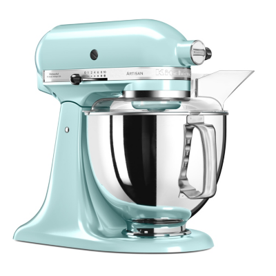 KitchenAid  ARTISAN 5KSM175PSEIC Küchenmaschine 300W 4,8L eisblau | 5413184200589