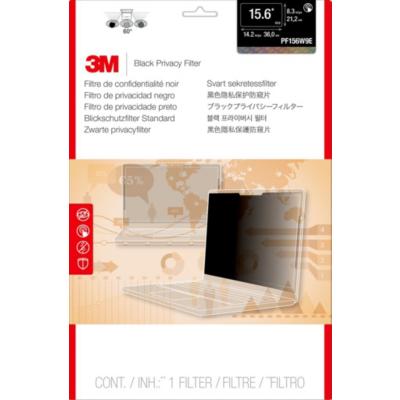 3M  PF156W9E Blickschutzfilter Black für 15,6 Zoll (39,6cm) 16:9 98044061533   0051128004388