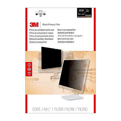 3M PF236W9B Blickschutzfilter Black für 23,6 Zoll (59,94cm) 16:9 98044054348 | 0051128797174