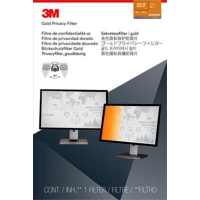 3M  GF220W1B Blickschutzfilter Gold für 22 Zoll (55,88cm) 16:10 98044064388 | 0051128006825