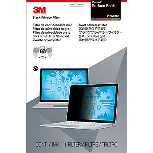 3M PFNMS001 Blickschutzfilter Black für Microsoft Surface Book 98044062903 | 0051128006566