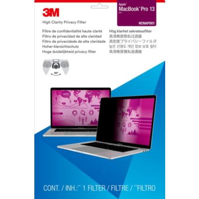 3M  HCNAP001 Blickschutzfilter für Apple MacBook Pro 13Zoll 98044065443 | 0051128007945