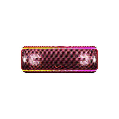 Sony SRS-XB41 tragbarer Lautsprecher (wasserabweisend, NFC, Bluetooth) rot | 4548736072824