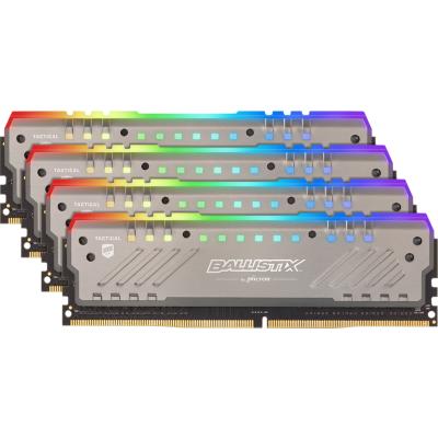Ballistix 32GB (4x8GB)  Tactical Tracer RGB DDR4-2666 CL16 RAM Speicher Kit | 0649528785602