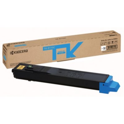 Kyocera  TK-8115C / 1T02P3CNL0 Toner Cyan für ca. 6.000 Seiten | 0632983047101