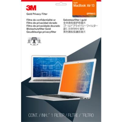 3M  GFNAP002 Blickschutzfilter Gold für Apple MacBook Air 13 Zoll 98044056962 | 0051128826546